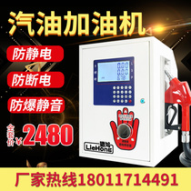 Gasoline explosion-proof refueling machine mute large flow diesel refueling equipment car 12V refueling machine 220v automatic