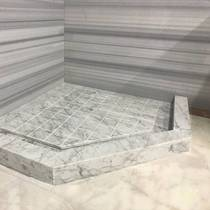 Marble shower room water strip countertop custom-made window sill stone artificial stone anti-talc groove ground.