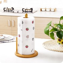 Desktop toilet paper holder household kitchen paper towel rack hanging suction paper special roll large roll bathroom roll paper