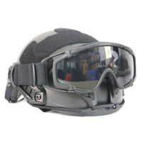 Deyi camp outdoor tactical helmet goggle FAST MICH helmet with tactical goggles field