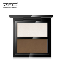 ZFC teacher series three-dimensional translucent two-color repair capacity powder high light shadow shadow silhouette mention powder make-up plate