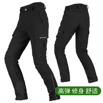 motoboy riding pants mens motorcycle pants racing motorcycle high elastic leisure anti-Fall Summer Spring self-cultivation personality