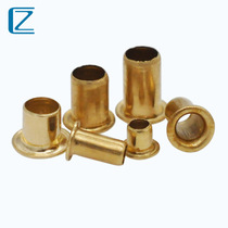 Copper eyelet Rivet M2 3M2 5M3 Copper Rivet hollow copper rivet through hole Rivet copper single tube