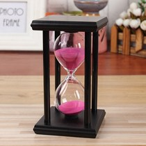 Hourglass Timer 30 60 Minutes time childrens small home decoration wine tasting cabinet living room creative Decoration
