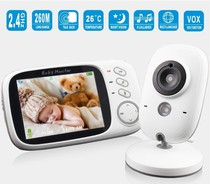 3 2 inch wireless video color baby monitor high resolution b
