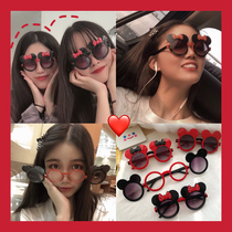 Minnie sunglasses flip cute sports outdoor Mickey sunglasses travel childrens parent-child sunglasses sun glasses sun glasses