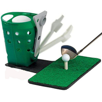 Grève de machine serve golf tee Pad Machine Golf Practice fournitures