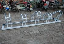 The new frame car display bearing roadside bicycle frame simple support type parking place front wheel traffic placement support