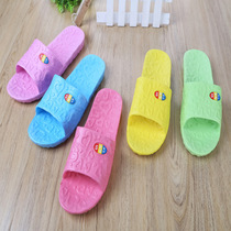 Bathroom slippers women summer home indoor anti-slip thick-soled couple bath home soft-soled sandals mens summer.