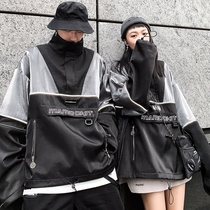 Season Wild MAMC autumn new 3M reflective high-necked jacket couple jacket men and women tide tide