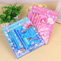 Stationery nine-piece set with the bag price increase to buy single shot does not ship