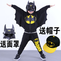 Halloween childrens clothing boy autumn suit costume childrens Batman cosplay spring and autumn clothes