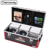 390 pieces of aluminum alloy cd disc CD game disc storage box CD box DVD storage overall box capacity