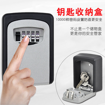 Password key box decoration company door door car key storage box storage box room card storage key box