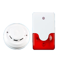Factory warehouse smoke alarm fire sensor sensitive field alarm 110 dB smoke alarm
