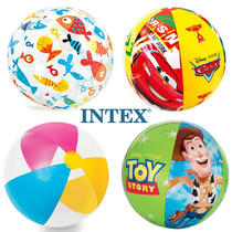 INTEX water polo inflatable water polo beach ball children adult water toy beach ball swimming handball.