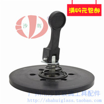 Pad set Rubber diameter 125mm tiled glass gripher handling suction cup accessories.