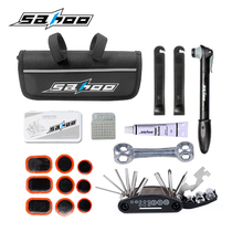 SAHOO Bike Repair Kit Tire Cylindre Réparation Wrench Set Mountain Bike Combination Outil