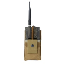Plein air tactique talkie-walkie petit sac main manchon tableau Protection Pack Radio talkie-walkie Bao Feng petit ensemble set radio