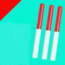 Baton athletics competition dedicated kindergarten morning gymnastics equipment red and white wooden baton childrens Sports Fitness stick