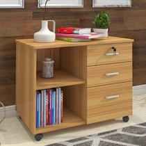 Side of the Cabinet to receive money cabinet low Cabinet Cabinet simple wind side cabinet with simple floor-standing desk stationery bedside office