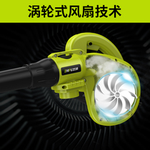 Tube hair dryer blower tool home 220v large-scale high-power duster impeller small hamstring blowing vacuuming