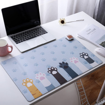 Cute table mat winter heating mouse pad warm table mat student desktop writing warm hand table mat female Desk Mat