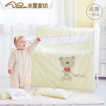 Mercury home textile baby genuine baby bed linen 24 sets of newborn cotton baby baby cute bed set