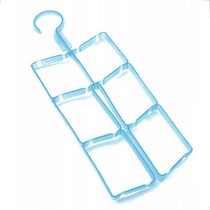 Rescuers 2012 High clean non-toxic plastic bag drying rack drying rack (blue)