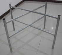 Hot galvanized round table table stand folding table stand round table stand table feet glass table stand support iron rack