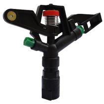 1 inch plastic rocker nozzle double nozzle automatic rotating garden Agriculture Irrigation lawn sprinkler sprinkler equipment 360