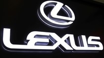Lexus mini word LED back type light word glow word luminous word LED light word mini hair word.