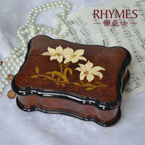 Lehman Lily Box Huit tons Box Music Box Creative Birthday Gift To Send Girlfriend Honey On Valentine's Day