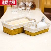 Shangju excellent product storage basket mystery key debris box snack zakka storage box desktop Coffee Table storage tray