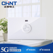 CHiNT switch socket type 118 wall switch NEW5G touch delay module