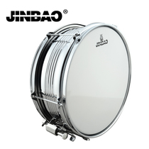 Jin Bao shelf drum snare drum JBS1051 stainless steel snare drum team drum to send the strap drum stick