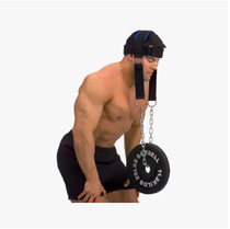 Head and neck trainer weight cap shoulder and neck muscle strength training equipment with chain