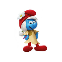 Smurfs doll model doll ornaments childrens toys anime hand to do