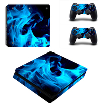 Sony PS4 SLIM sticker corps autocollants ps4 new slim douleur autocollants film la couleur des autocollants pour envoyer poignée autocollants 13