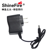 3.5mm5.5mm de batterie au lithium Shinefire 18650 Direct chargeur Strong Light lampe phare trou rond