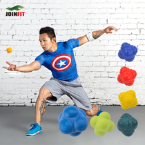 JOINFIT Medium Difficulty Six Corners Reaction Ball Tennis Table Tennis Reaction Speed 60Zbdh8tRH