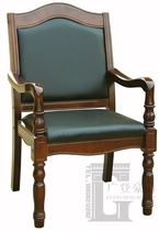 Solid wood meeting chair mahjong chess chair coffee shop training government reception chair four dead chair chair