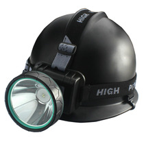 ShineFire helmet helmet coal miners dedicated headlights glare Outdoor Miner night fishing lights rechargeable