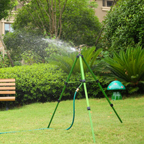 Lawn automatic rocker nozzle automatic sprinkler irrigation equipment gardening water bird tripod sprinkler 360 degrees