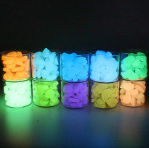 High bright plastic luminous stone fish tank fluorescent stone luminous stone aquarium luminous stone