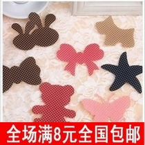Cute wave point bow magic stickers bangs stickers hair accessories post clip seamless hair stickers