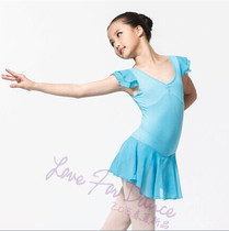 Dance love authentic PM1017 Gymnastics clothes dance clothes ballet dance body clothes practice clothes Siamese girls spring and summer