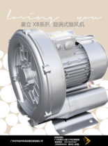 Haoli XB series vortex blower (high pressure blower pump)