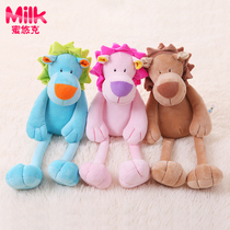 Baby plush comfort doll baby sleep comfort supplies baby toys 0-1 years old newborn lion doll