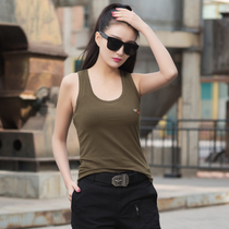 Free Knight outdoor female models slim cotton vest military fans word stretch Sling tactical primer shirt 0312